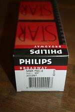 1 * Philips MSR 700/2 g22 LAMPADINA neu&ovp fattura
