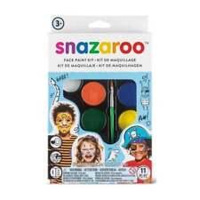 Snazaroo Face Paint Adventure Palette Kit - 8 Snazaroo Classic Face Paints (2ml)