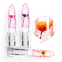 Jelly Flower Matte Glitter Matte Lipstick Waterproof Makeup Lip Gloss 6 Colors