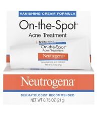 Neutrogena On The Spot Acne Treatment 21g USA 0.75 oz Peroxide Exp 2021