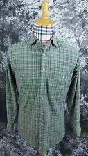 Mens L.L. Bean multi color plaid button front shirt small