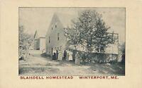 WINTERPORT ME – Blaisdell Homestead – udb (pre 1908)