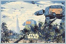 Star Wars Rogue One VARIANT Poster Screen Print Kilian Eng Mondo Bottleneck