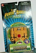 Bandai 1996 Power Rangers ZEO Pyramidas with Carrier Zord MOC SEALED