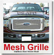 FOR 05-07 Ford F250/F350 Super Duty/Excursion Mesh Grille