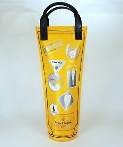 Veuve Clicquot Champagne Insulated Bottle Cooler Carry Bag Case Travel Wine Gift