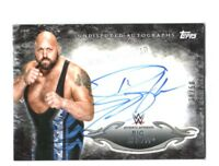 WWE Big Show 2015 Topps Undisputed Black Authentic Autograph Card SN 38 of 50