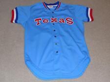 Jackie Brown Game Worn Jersey 1981 Texas Rangers