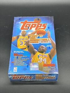 2000-01 Topps Series 1 NBA Basketball Trading Cards Factory Sealed Hobby Box
