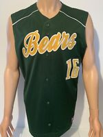 NEW Baylor Bears Under Armour Authenic Stitched Baseball Jersey Men's Large NCAA