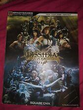 DISSIDIA 012[duodecim] Final Fantasy Strategy Guide / Sony PSP