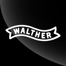 Walther Vinyl Decal Sticker - TONS OF OPTIONS