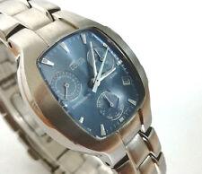 Reloj caballero LOTUS 9765 Original cronometro alarma Nuevo Miyota AS10 azul