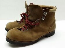 Men's Vasque VTG Leather Hiking Mountaineering Boots Sz 11 D Vibram Soles italy