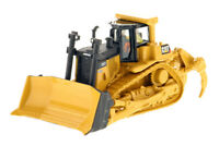 CAT Caterpillar D9T Track-Type Tractor 1/87 Scale Crawler Bulldozer Truck Model