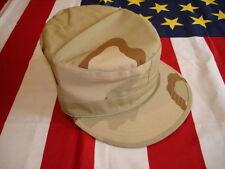 Ranger Combat Cap Large 7 1/2 Tri Color Desert New Poly/Cot Ripstop