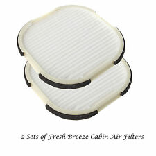 2x Fresh Breeze Cabin Air Filter For 2000-2009 Honda S2000 AP1 AP2 79831-S2A-003