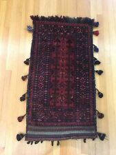 Fine Afghanistan Hand Knotted Saddlebag ~ Woven by Belouch Tribe ~ Semi Antique