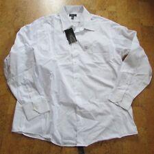 Structure Mens Shirt Long Sleeve Dress Modern Fit Sz 17/17 1/2 34-35 White New