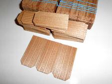 Lärche. Dachschindeln. Holzschindeln. Lärche. 140 Stück. 50mm x 25mm x 1mm