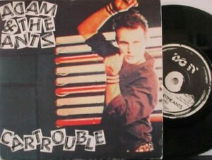"""ADAM & THE ANTS ~ Cartrouble ~ 7"""" Single PS"""