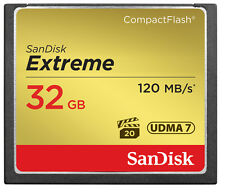 SanDisk 32GB CF Compact Flash Memory Card For Canon EOS 5DS Camera