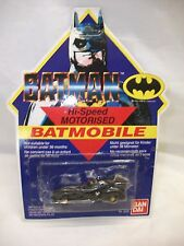 Vintage Bandai Batman Batmobile Moc ~ Hi Speed motorizado coche