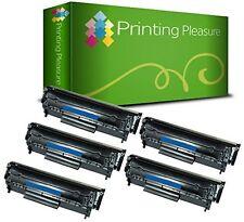 5 Toner PP  fits for Laserjet 1010 1012 1015 1018 1022 3015 Q2612A