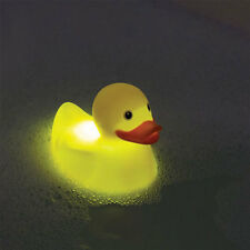Floating Colour Changing Rubber Duck Bath Bathroom Mood Light Stocking Filler
