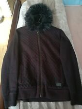 Men's River Island hooded jacket Size M