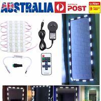 5ft Hollywood Illuminato Trucco Specchio Luce LED Kit W/Dimmer Luce Bianca Al