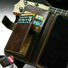 Fr Samsung S21 S20 Ultra S10 S9 Note 10 Plus Leather Flip Wallet Card Case Cover