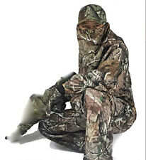 6639 New Bionic Camouflage Hunting Clothes Leaf Waterproof Jacket +Pants suit