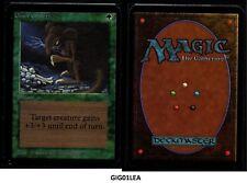 MRM ENGLISH Giant Growth Ex+ MTG magic ALPHA ( GIG01LEA )