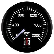 Stack 0-2000°F Pro Stepper Motor Exhaust Gas Temperature EGT Gauge 52mm 3314