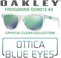 Occhiali da Sole OAKLEY FROGSKINS 9013 A3 CRYSTAL CLEAR COLLECTION Sunglasses