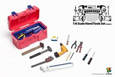 ZCWO 1/6 Scale Red Workshop Hand Tools Set F 12'' Action Figure