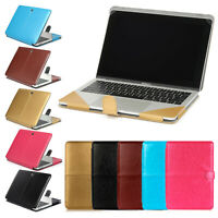 """Laptop PU Leather Case Cover for MacBook Air Pro 13"""" 15"""" A1932 A1707 A1989 A1990"""