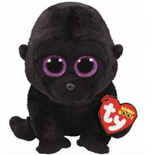 Ty Beanie Boos 37222 George the Black Gorilla Boo Regular