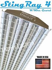 US LED Utility 88W 4'F Garage Work Shop Light WireGuard Ceiling Fixture Daylight
