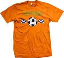 Scotland European National Scottish Soccer Team Mens T-shirt