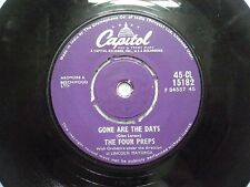 """THE FOUR PREPS 45 CL 15182 RARE SINGLE 7"""" INDIA INDIAN 45 rpm VG+"""