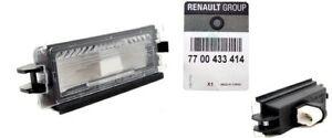 Indicador de luz matrícula iluminación para RENAULT CLIO II (1998-2005)ORIGINAL!
