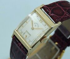 Vintage Gold Lord Elgin Sub Second Hand Mens Mechanical Manual Winding Watch