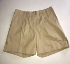 J. Jill Women's Sz 8 Petite Stretch Genuine Fit Pleated Front Walking Shorts