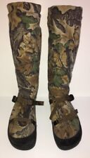 Mens Taiga Camouflage Boots USA 13 EUR 47 Fleece Knee High