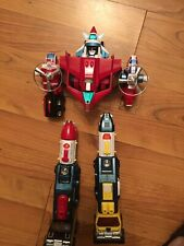 Voltron Dairugger Vehicle Team  Vintage Collectible Almost Complete