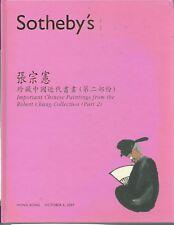SOTHEBY'S HK CHINESE PAINTINGS Chang Coll Qi Baishi Zhang Daqian Catalog 2007 HC