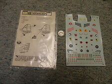 Microscale decals 1/48 48-70 Israeli badges and markings   partial    A99