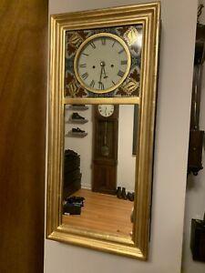 Aaron Willard Mirror Wall Clock